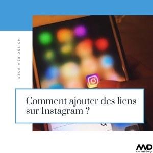 Comment ajouter des liens sur Instagram ?
