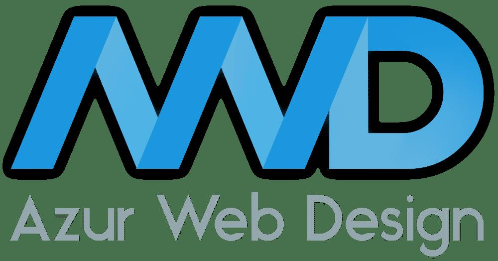 logo azur web design