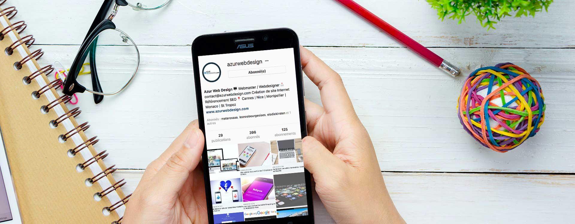 comment faire de la publicit sur instagram cr ation site web 06. Black Bedroom Furniture Sets. Home Design Ideas