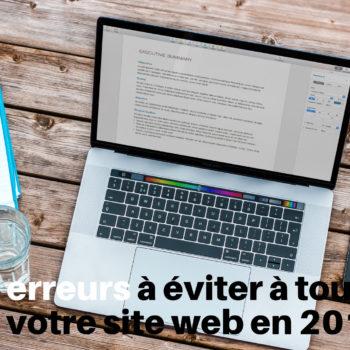 Les 2 erreurs a eviter à tout prix sur votre site web en 2018 ! webmaster cannes, webmaster nice